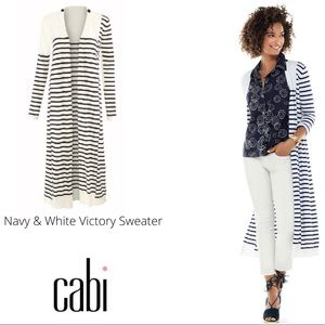 NWT CAbi Victory Sweater